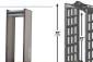 供应便携式安检门 可折叠安检门 进口折叠安检门